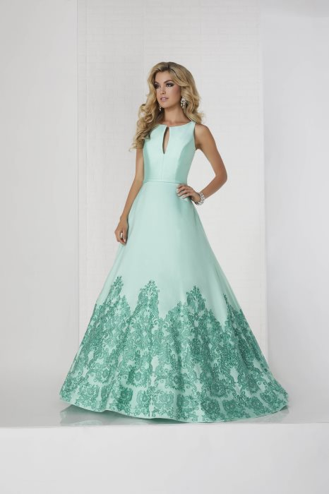 Tiffany Exclusive – 46130   Beautiful Dresses